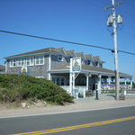 The Beachead is nicely located with a view of the Old Harbor at back and Crescent Beach from the