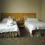 ベッドはごく普通のシングルサイズでした。
