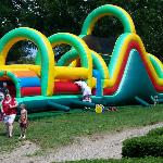 fun slide/bouncer