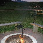 Harney Peak, camp grounds, fire pit