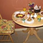 Breakfast in your room :-)