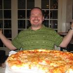 Yummy pizza.