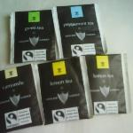 at first day they serve standard English tea bags for us, but  we got  these tea bags  from stai