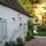 La maison tourangelle avec son jardin