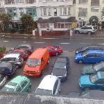 The rammed car park