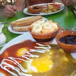 Orale's Restaurant was a very short walk and we enjoyed this fabulous breakfast!