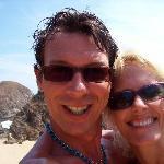 Having fun on the beach!