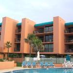Balconies that overlook the ocean