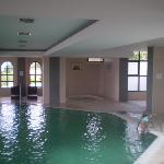 Indoor pool and massage pools