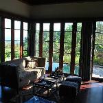 master villa living area