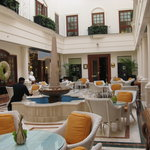 Atrium - fabulous for pre dinner drinks or afternoon tea