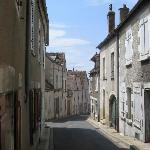 Typical street in Sancerre.