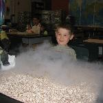 Seeing liquid nitrogen up close