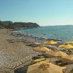 left side of stegna beach