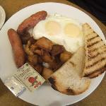 colazione alla carta(5 scelte)