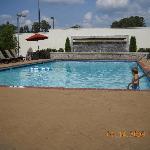 Doubletree's beautiful pool