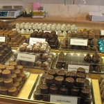 A chocolate shop's temptations