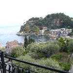 View over Mazzaro from room balcony