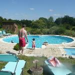 The pool/paddling pool - our son loved it