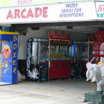 Entrance to Beach Arcade from Rehoboth Boardwalk