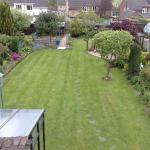 An impressive well kept garden.