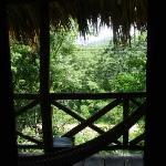 Balcony with hammock