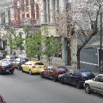 Vista hacia la calle