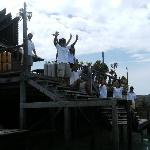 Staff good bye at SMART Mabul Island