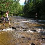 ocqueoc water falls