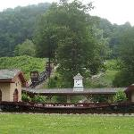 Horseshoe Curve from parking lot