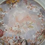 Ceiling in Ricci Chapel