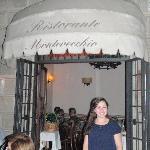 outside Montevecchio's
