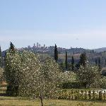 View from Il Vecchio Maneggio