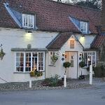 Typical english pub looks but top class restaurant
