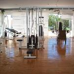 All the gym equipment availabe