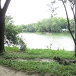 Gulshan Lake Park, across the street from the Aristocrat Inn