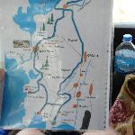 Safari - Streckenplan