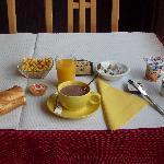 Un petit déjeuner type