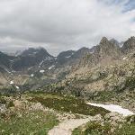 Mountains from Borean valley
