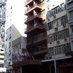 Vista del hotel desde la Av. Nuestra señora de Copacabana