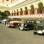 Vintage Car Rally ending at Sariska Palace