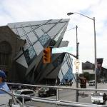 The Royal Ontario Museum and our tour guide.