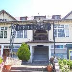 Front of the old hotel