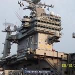 My 1st Command the USS Geoge Washington CVN-73. The 5th Nimitz class carrier At the time she was