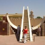 Jantar Mantar > the astronomical Observatory in the pink cinty of jaipur.