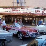 Summer of 2006, my dad put his corvette in a classic car show during artwalk.