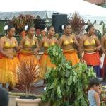 Traditional dancers are frequent at fiestas and other island events.