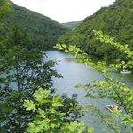 jezioro w Lilafured (k/Miskolca)