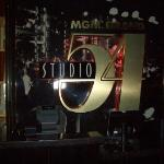 The entrance to Studio 54 at the MGM Grand