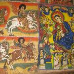 Paintings in the Monasteries on Lake Tana